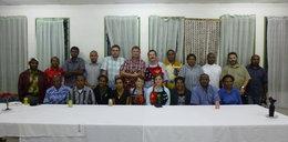 Specjaliści z Papui Nowej Gwinei w szpitalu im. Degi