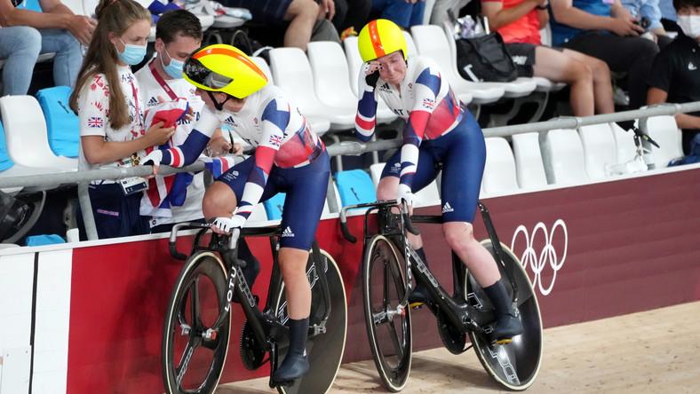 Laura Kenny (z prawej) i Katie Archibald