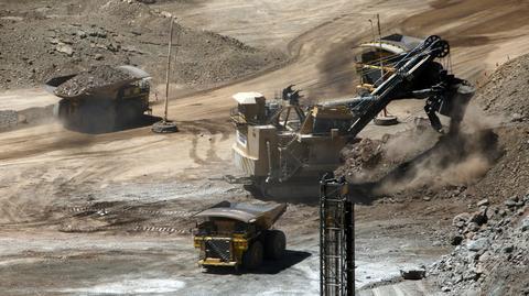 Odkrywkowa kopalnia Sierra Gorda w Chile została uruchomiona w czerwcu 2014 r.