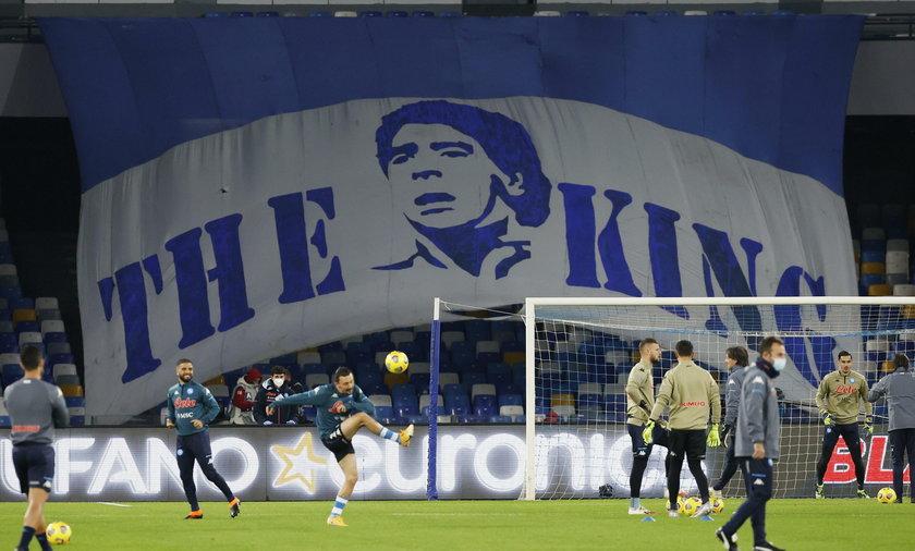 Stadion w Neapolu nosi imię Diego Armando Maradony