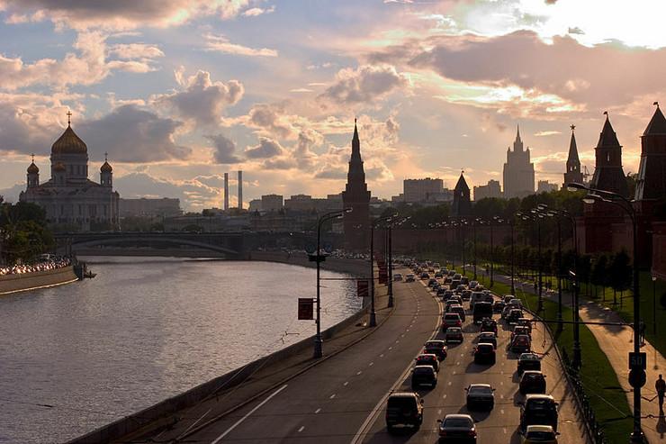 Moskva,  Kremaljski kej