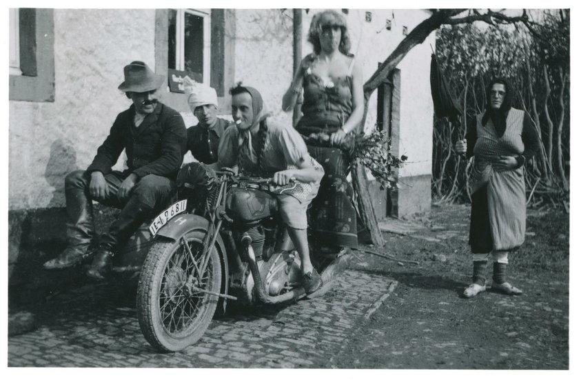 Tak się zabawiali bandyci z Wehrmachtu