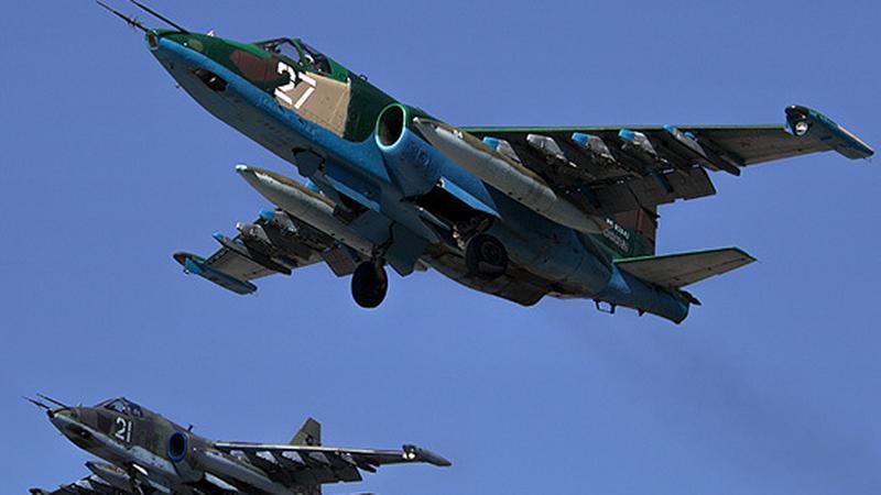 Su-25 - misja w parze