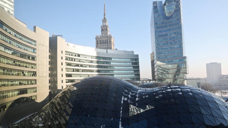 Warszawa Ewakuacja Złotych Tarasów Warszawa