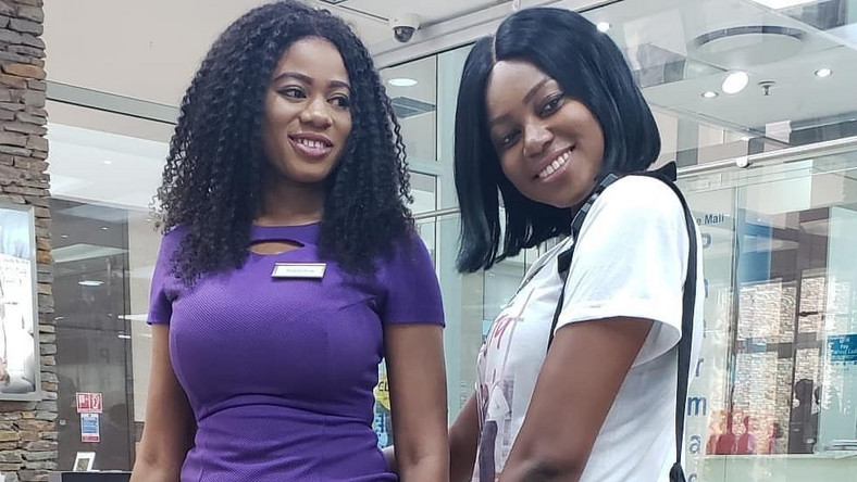 Yvonne Nelson and Sandra