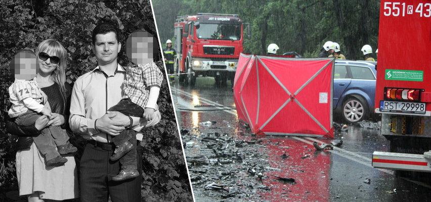 Małżeństwo zginęło w wypadku na Podkarpaciu. Wiadomo, kto zaopiekuje się trójką małych dzieci