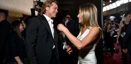 Pitt i Aniston wymieniali czułości na gali. Wrócą do siebie?