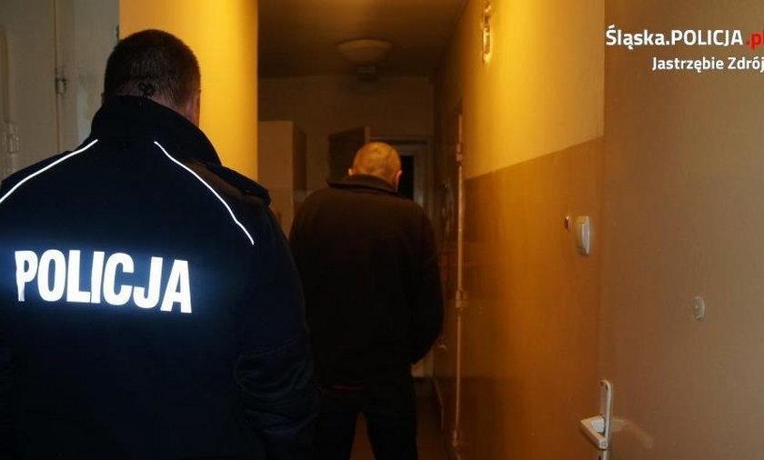 Zbezcześcił i okradł polski kościół