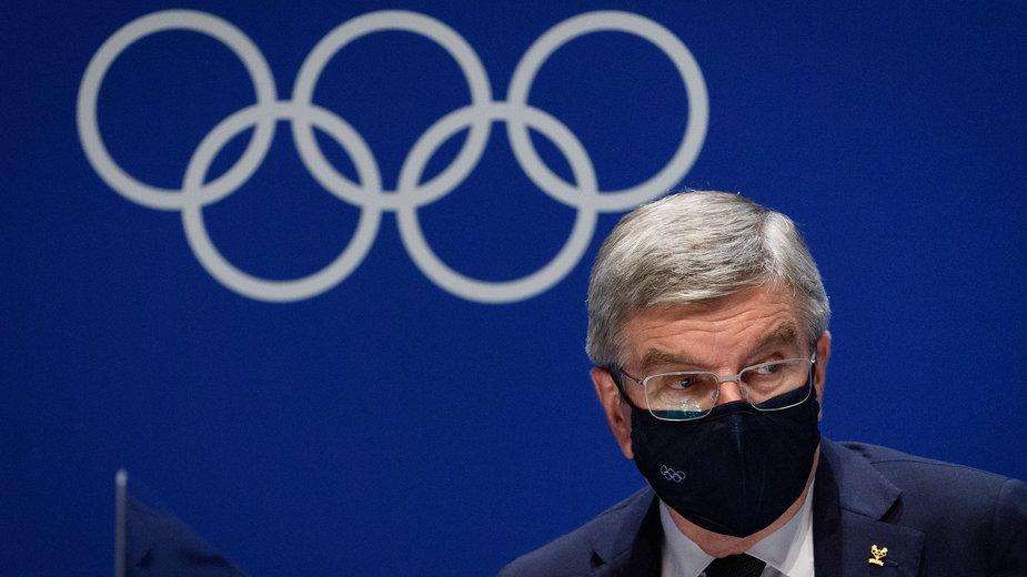 Thomas Bach, przewodniczący Międzynarodowego Komitetu Olimpijskiego