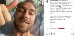 Pierwsze zdjęcie Eriksena ze szpitala. Jest wielka prośba