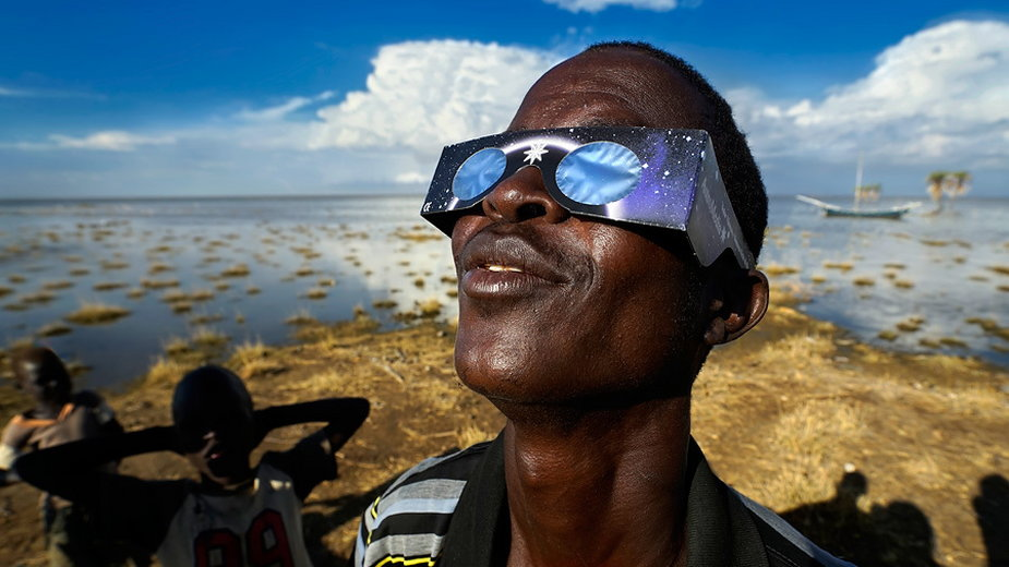 Zaćmienie w Kenii