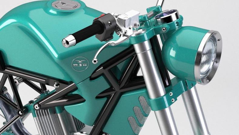 Motocykl WSK nowej generacji