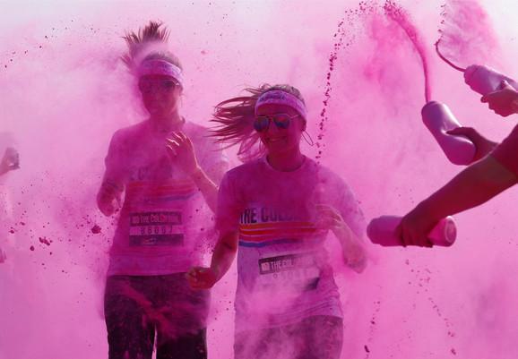 U septembru prva Color running trka u Beogradu