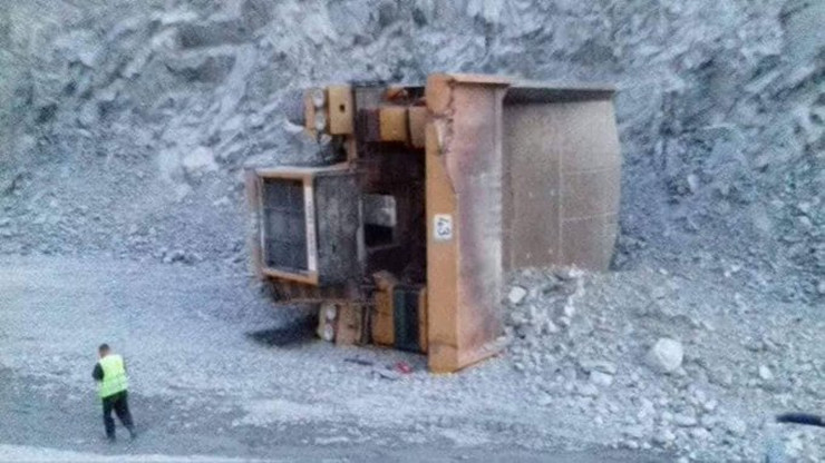 Prevrnuo se kamion RTB Bor RAS D. K.