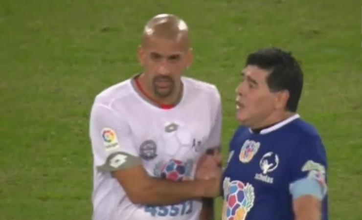 Maradona i Veron