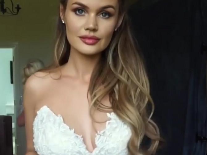 """""""Htela sam samo da budem NAJLEPŠA MLADA"""": Pokazala je venčanicu na internetu i svi joj kažu da ŽALE NJENOG MUŽA"""