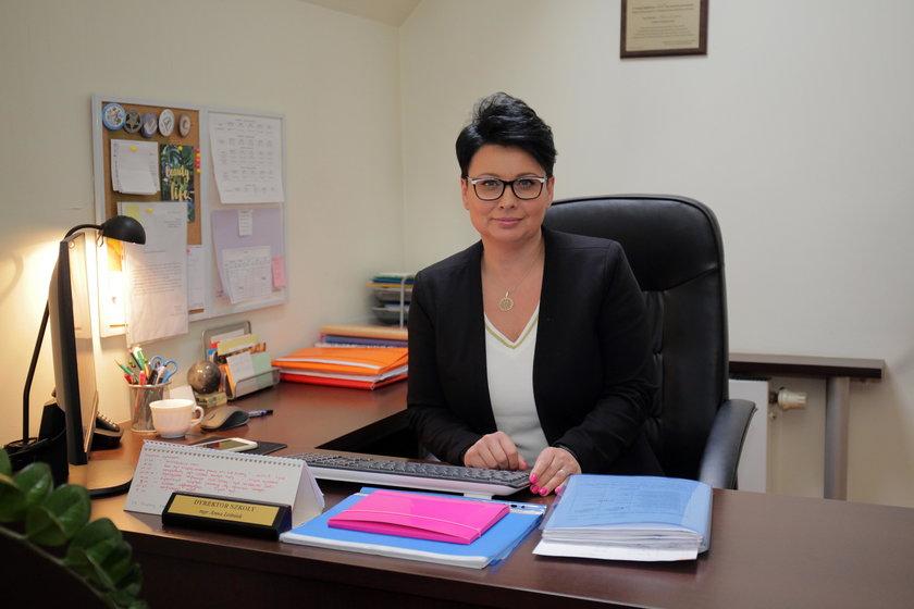 Anna Leśniak, dyrektor szkoły podstawowej nr 1 w Pabianicach