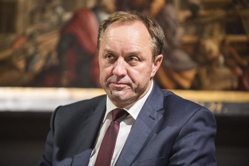 Marszałek województwa pomorskiego Mieczysław Struk