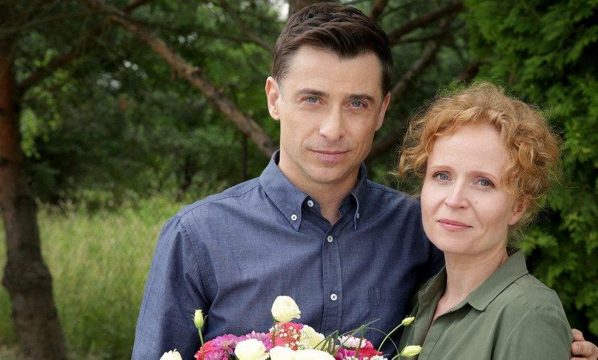 """Kacper Kuszewski i Dominika Kluźniak w """"M jak miłość"""""""