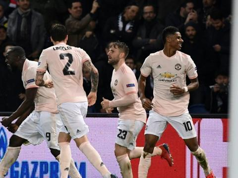 manchester united stun twitter with 3 1 win over psg to reach quarter finals of champions league. Black Bedroom Furniture Sets. Home Design Ideas