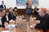 Aleksandar Vučić, Pjetro Parolino, Sveta stolica