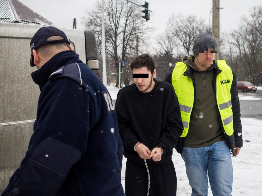 Zarzuty za atak na policjantów w Zgierzu