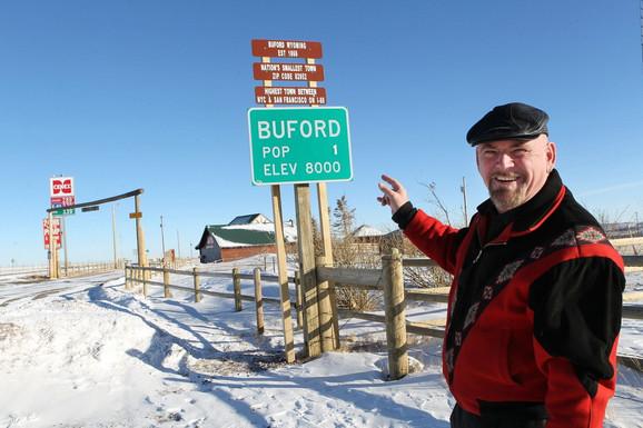 Bjuford u Vajomingu ima samo jednog stanovnika