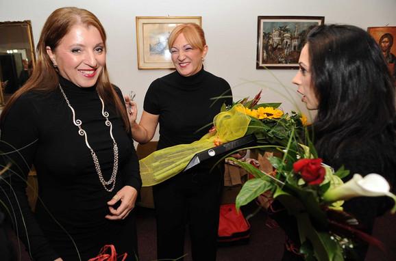 Mirjana Karanović, Verica Kalanović i Ana Todorović Diallo