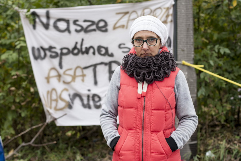 Mieszkańcy blokowali dojazd do stacji segregacji śmieci w Zabrzu