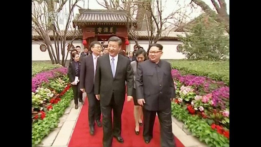 Pierwsza zagraniczna wizyta przywódcy Korei Północnej