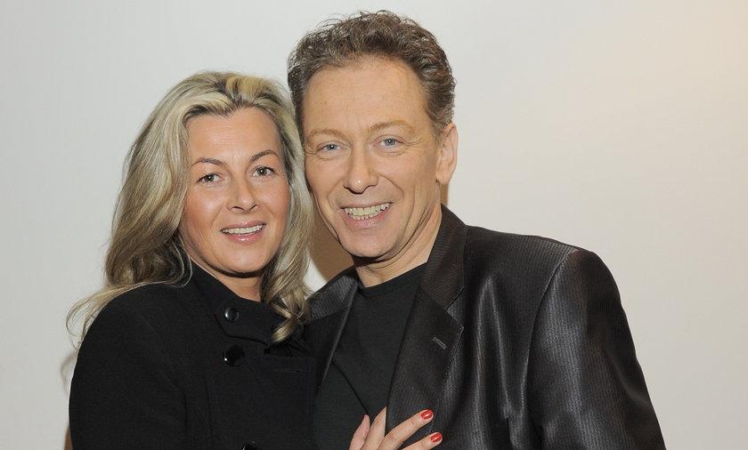 Jacek Borkowski z żoną