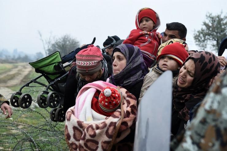 Policija na teritoriju Makedonije propušta isključivo ratne izbeglice
