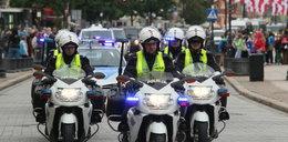 Pijany policjant podczas wizyty Obamy jest bezkarny