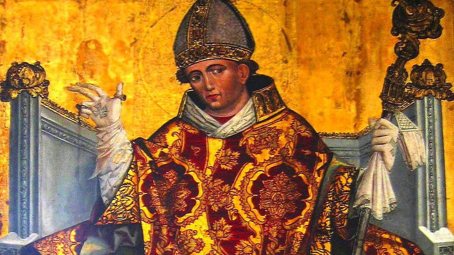 Portret św. Stanisława z klasztoru franciszkanów w Krakowie