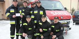 Strażakowi spłonął dom. Co zrobili koledzy?