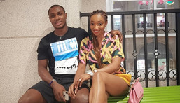 Sonia Ighalo has called out the Nigerian footballer for fathering children outside wedlock
