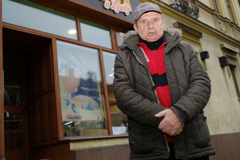 Pan Stanisław jest szanowanym człowiekiem w Wadowicach