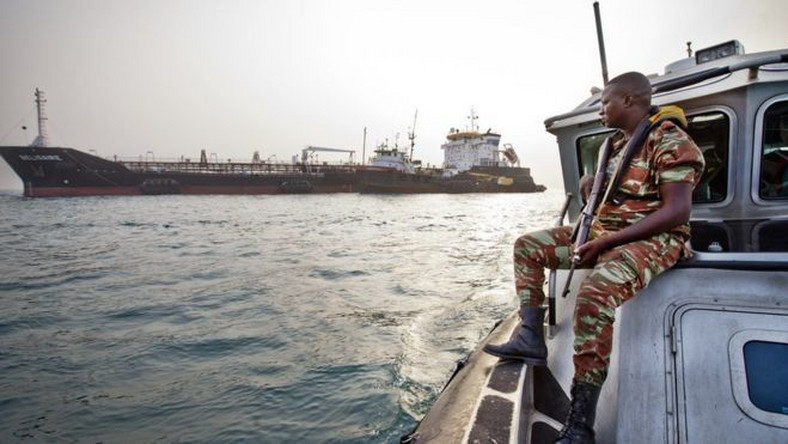 The seas off West Africa's coastline are turning into the most dangerous in the world, according to a new report. (Getty images)