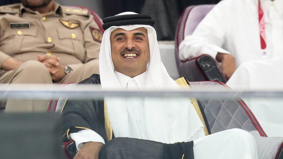 Emir Kataru Szejk Tamim bin Hamad al-Thani