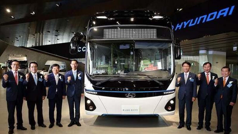 Hyundai prezentuje elektryczny autobus