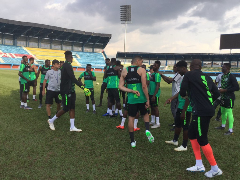 Super Eagles camp opened on Sunday, June 2 ahead of AFCON 2019 (Twitter/Super Eagles)