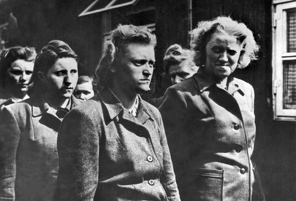 Žene iz logora Bergen Belzen