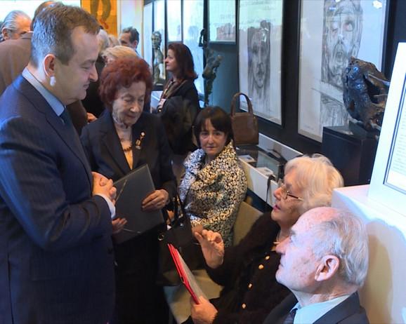Ivica Dačić u sedištu UN u Njujorku otvorio je izložbu o Jasenovcu