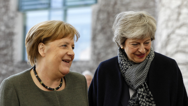 Angela Merkel i Theresa May