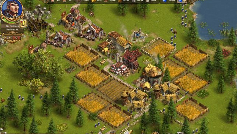 The Settlers Online w pudle