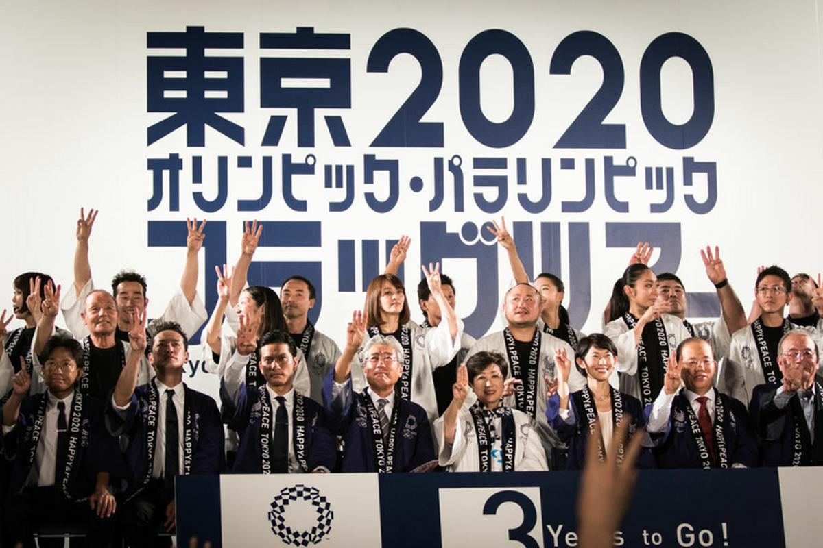 Odliczanie trzech lat do rozpoczęcia igrzysk w Tokio