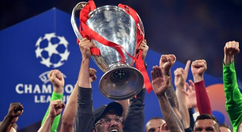 Liverpool manager Jurgen Klopp (centre) reiterated his criticism of a European Super League despite his club being one of 12 clubs behind the breakaway plans