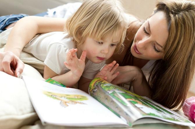 I kad nauče da čitaju, vi im čitajte i dalje. Ne traži previše truda, a za decu radite neprocenljivu stvar