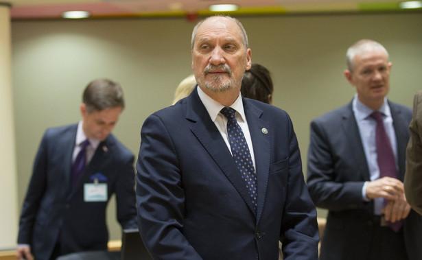 """Minister podkreślił, że zasadnicze znaczenie ma też """"zwiększenie takich środków obrony jak Krab, Kryl i Homar"""""""