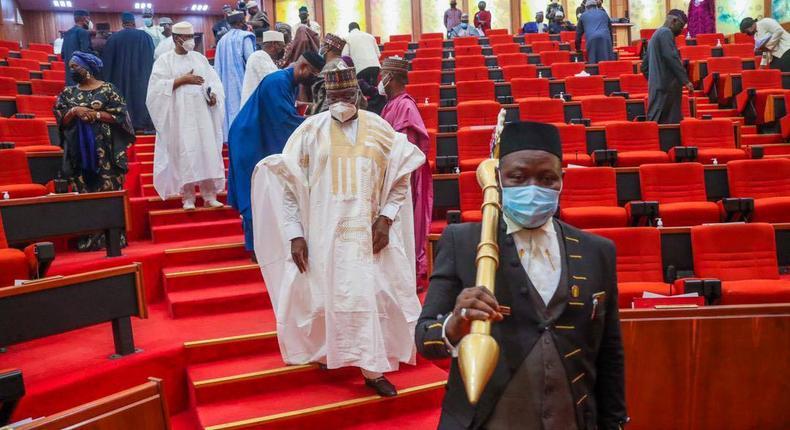 Nigerian Senate [Tope Brown]